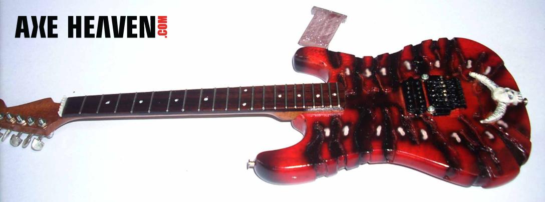 George Lynch Miniature Mr. Scary Guitar