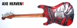 George Lynch Miniature Mr. Scary Guitar - Back