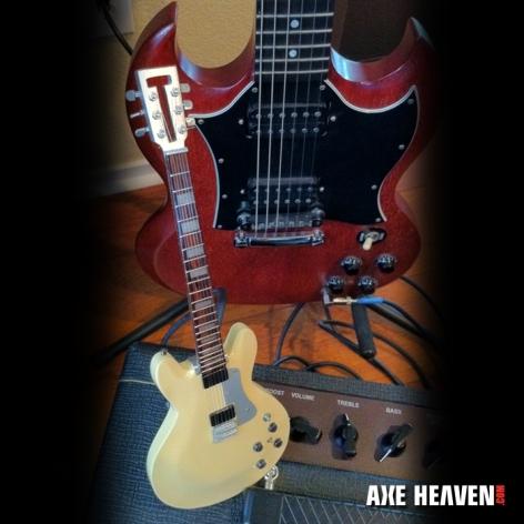 Travis Bean Miniature Jerry Garcia Guitar