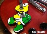 Koopa Troopa Custom Character Miniature Guitar by AXE HEAVEN