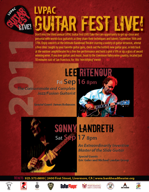 Click for Guitar Fest LIVE! at Bankhead Theater Poster (PDF)