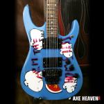 Tom Morello's Arm the Homeless Miniature Replica Guitar Collectible by AXE HEAVEN®