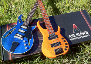 Furthur Custom Miniatures: Bob Weir Guitar & Phil Lesh Bass