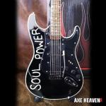 Tom Morello's SOUL POWER Miniature Replica Guitar Collectible by AXE HEAVEN®