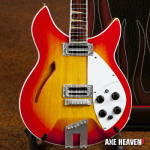 George Harrison 12 String Sunburst Miniature Guitar Replica Collectible by AXE HEAVEN®