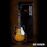 John Lennon '1965' Sunburst Miniature Guitar Replica Collectible by AXE HEAVEN®