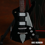 Classic Black Iceman Miniature Guitar Replica Collectible by AXE HEAVEN® (opens in new window)