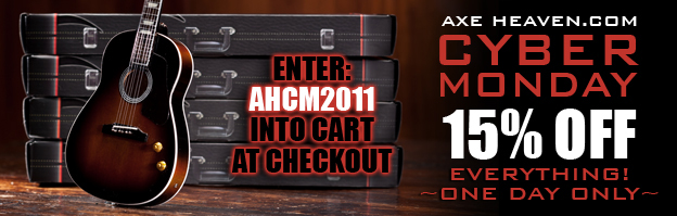 Cyber Monday 15% Discount Coupon Code: AHCM2011