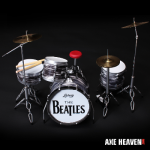 Ringo Starr Classic Oyster Beatles Drum Set Miniature Replica Collectible by AXE HEAVEN® (opens in new window)