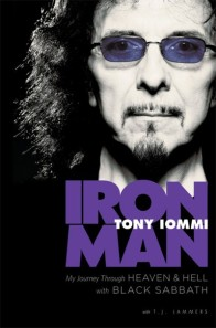 Tony Iommi Book Cover for Iron Man: My Journey through Heaven and Hell with Black Sabbath