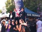 AXE HEAVEN® Minature Guitars get Approval from Joliet, IL Bluesmen Jake & Elwood