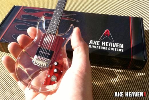 Custom Acrylic Dan Armstrong Guitar