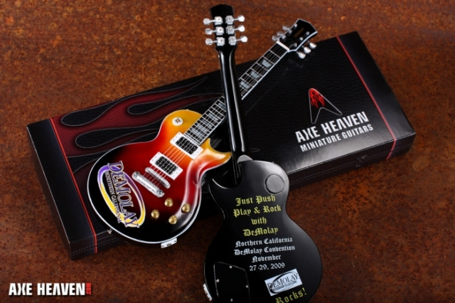 DeMolay Convention Corporate Gift Promotional Guitar by Axe AXE HEAVEN®
