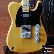 Fender™ Telecaster™ Miniature Replica Guitar - Officially Licensed Fender™ Merchandise Collection by AXE HEAVEN®