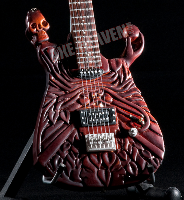 "Click for McSwain ""Life"" Miniature Guitar Replica Collectible."