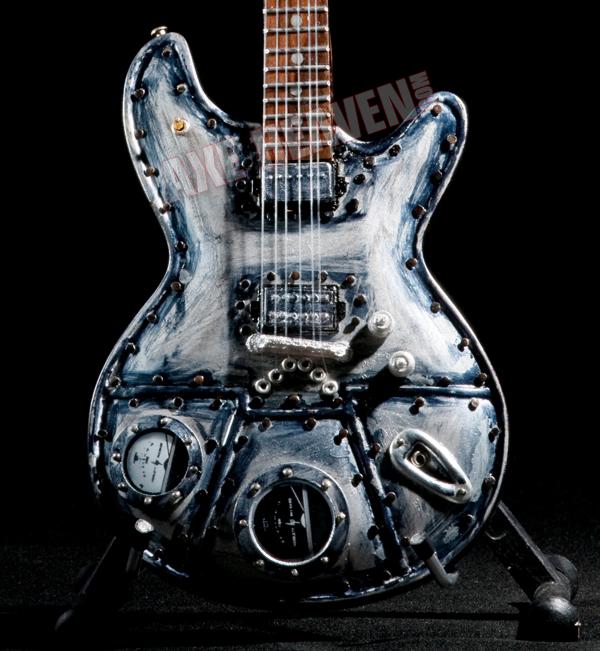 "Click for McSwain ""Machine"" Miniature Guitar Replica Collectible."