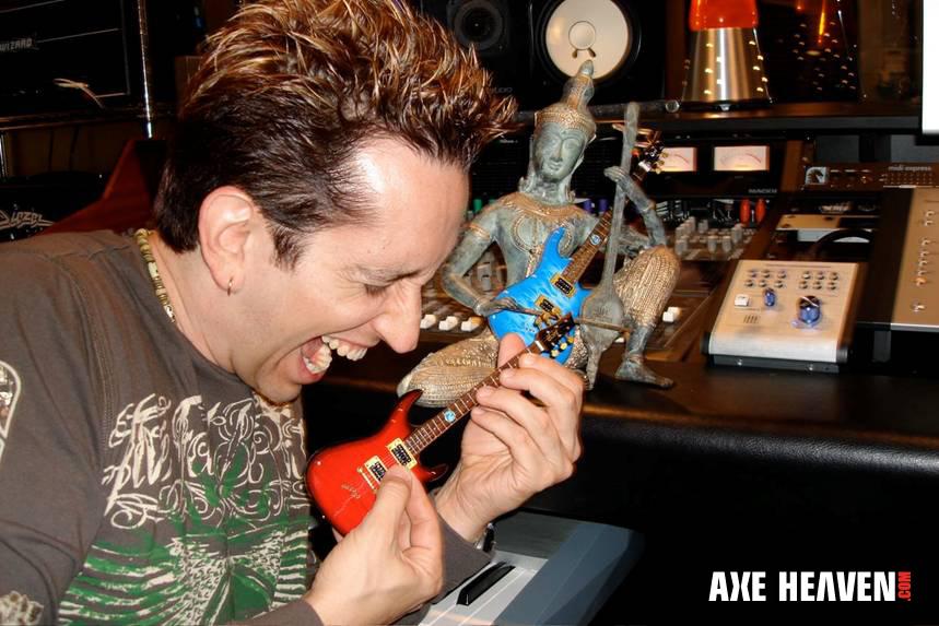Neil Zaza Miniature Guitar Replica Collectibles