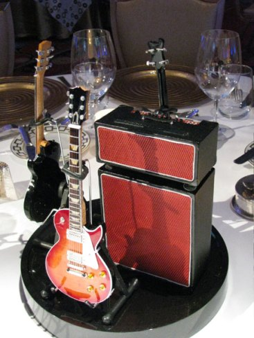 AXE HEAVEN® Miniature Guitars and Amplifiers at the Pacific Life 2011 National Sales & Award Conference