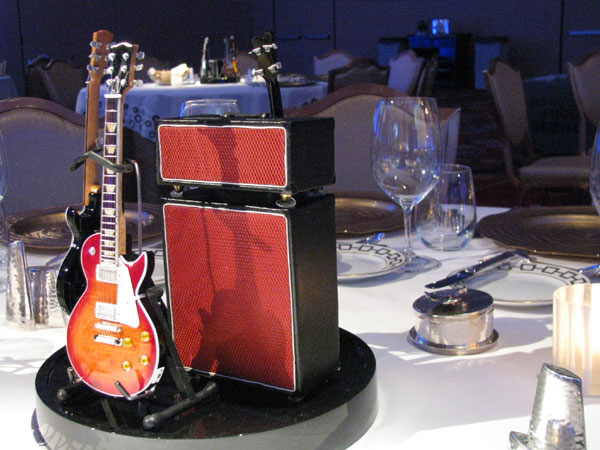 AXE HEAVEN® Miniature Guitars and Amps at the Pacific Life 2011 National Sales & Award Conference