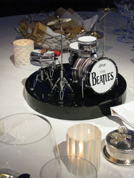 AXE HEAVEN® Miniature Drum Kits at the Pacific Life 2011 National Sales & Award Conference