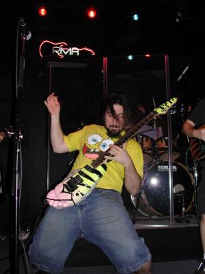 "AXE HEAVEN® Exclusive Artist Ron ""Bumblefoot"" Thal, Miniature Guitar Replica Collectibles"