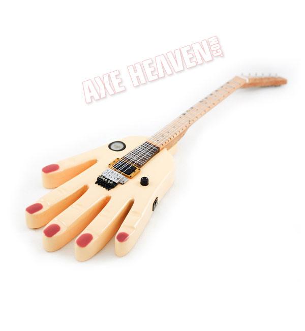 Ron Thal Hand Miniature Guitar