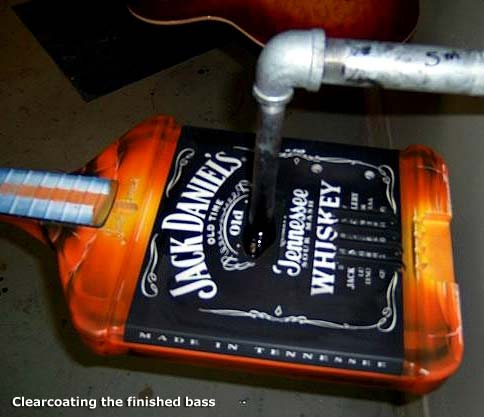 Production Virtual Tour of the Yamaha 2004 Custom Jack Daniel's Bass