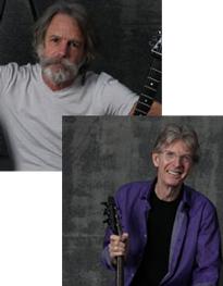 Bob Weir and Phil Lesh