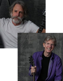 Bob Weir and Phil Lesh