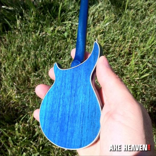 Furthur Custom Promotional Miniature Bob Weir Guitar