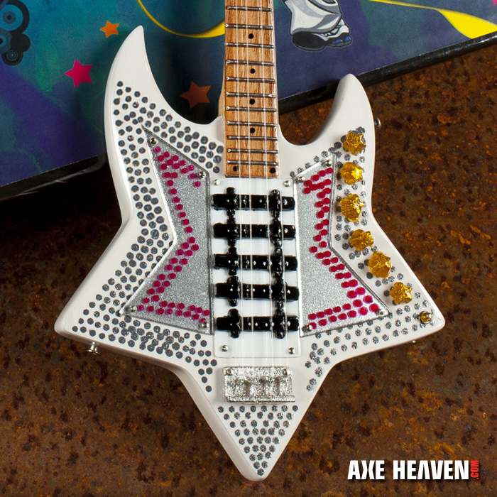 "Bootsy Collins ""Space Bass"" Mini Guitar - Hand-Crafted with Extraordinary Detail"