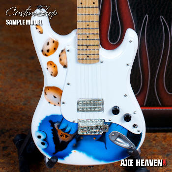 Cookie Monster Custom Miniature Guitar