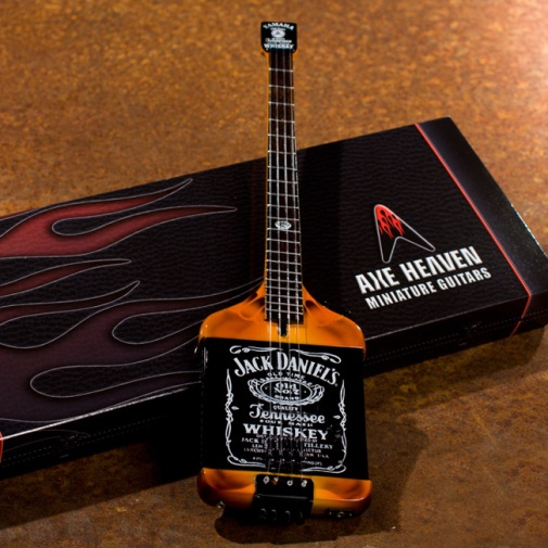 "Michael Anthony Custom ""Jack Daniels"" Bass Mini Replica"