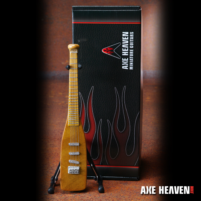 Baseball Bat Custom Shape Mini Guitar by AXE HEAVEN®