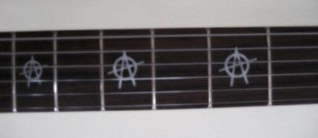 Anarchy by McSwain Guitars - Neck Detail