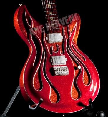 McSwain Flame Guitar