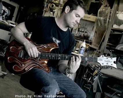 """Tour the McSwain Guitar """"Lab"""""""