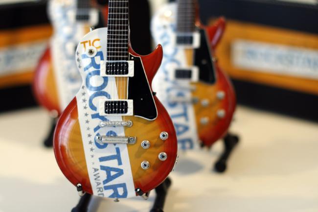 TIC ROCKSTAR AWARD Promotional Guitar