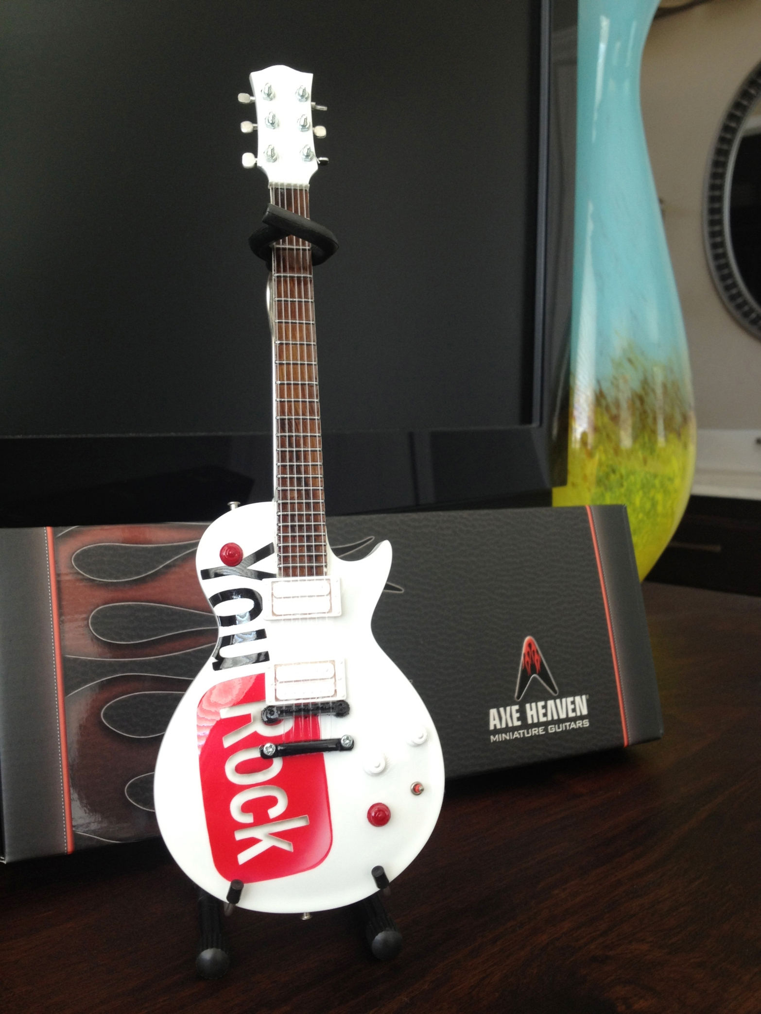 Google YouRock Employee Award Mini Guitar