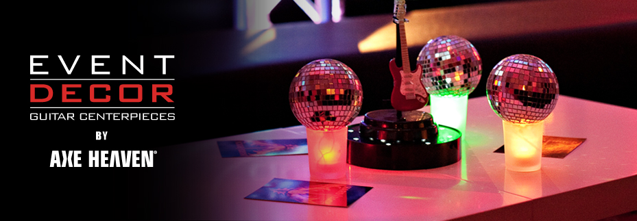 AXE HEAVEN® Guitar Centerpieces