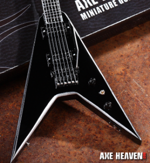 "Purchase Metal Mike's ""Metalworker"" Miniature Guitar by AXE HEAVEN®"