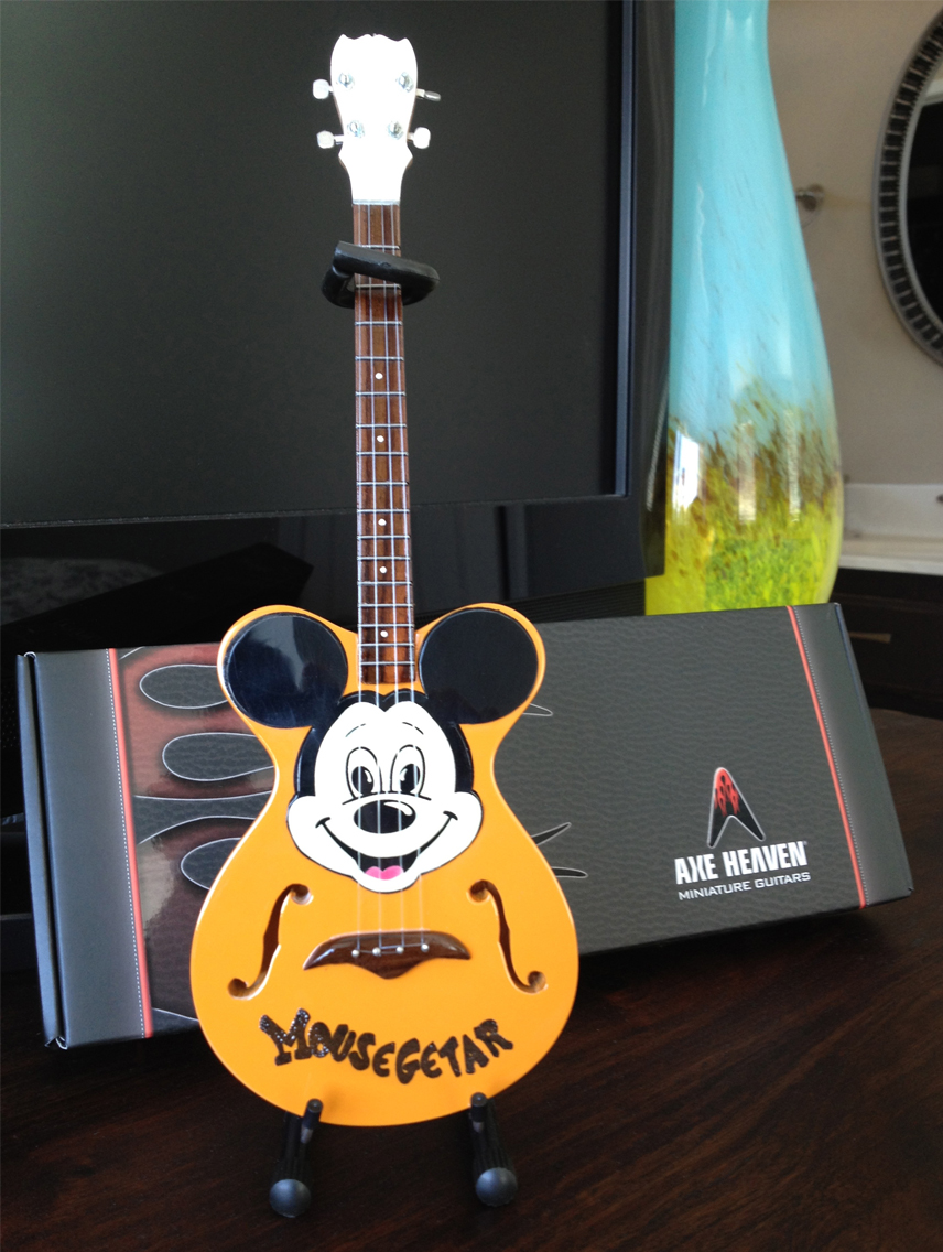 Mickey Mouse Mousegetar Project Miniature Guitar