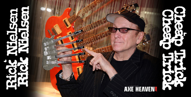 Click to Pre-order Officially Licensed Rick Nielsen Miniature Guitar Replica Collectibles by AXE HEAVEN