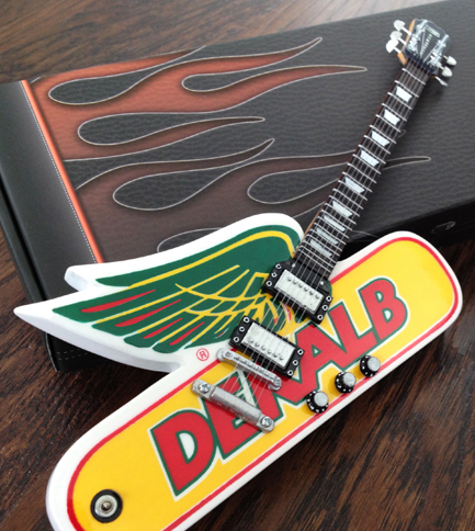 DEKALB Custom Shape Promotional Guitar