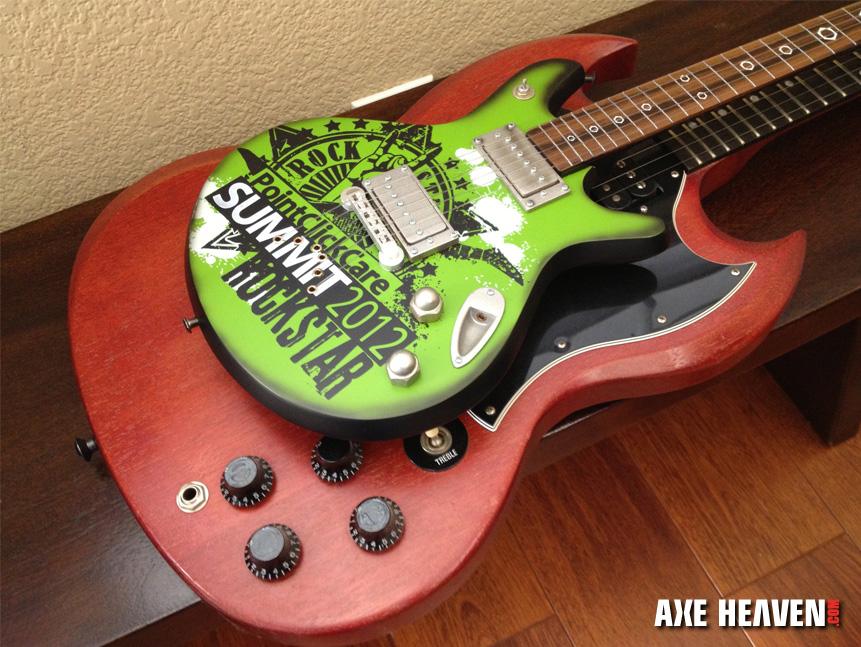 PointClickCare® 24-Inch Guitar Rockstar Award Trophy