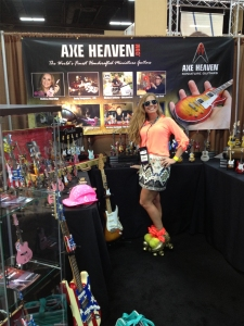 Coolest New Promo at The 2013 PPAI Show by AXE HEAVEN