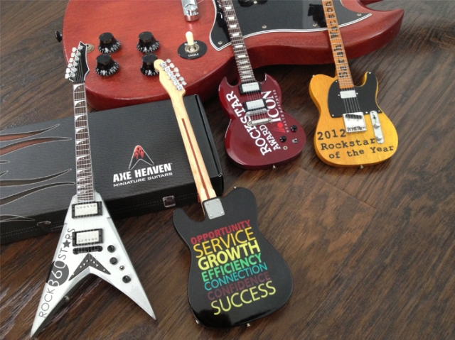 ROCKSTAR CUSTOM AXE AWARDS