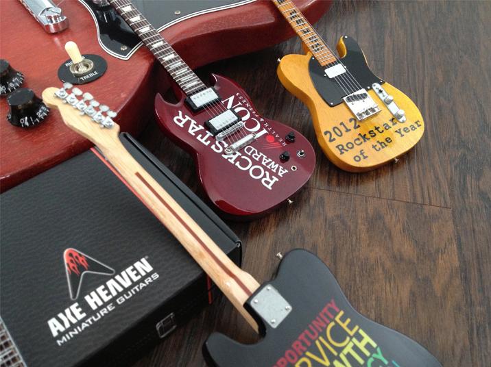 Guitar Award Trophy Rockstar Custom Axe Award Axe