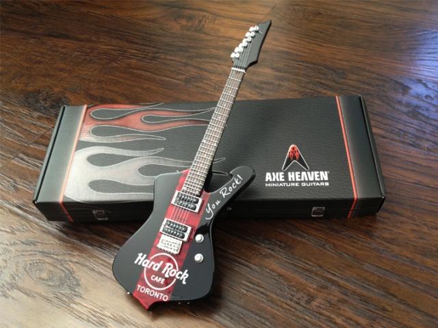 Hard Rock Cafe Toronto Mini Guitar_1