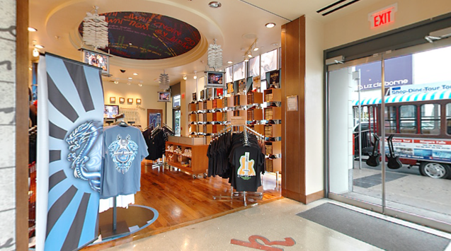 Hard Rock Toronto Gift Store